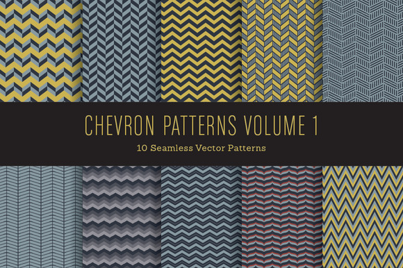 Chevron Patterns Volume 1