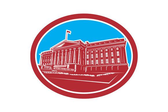 The Treasury Building Washington DC
