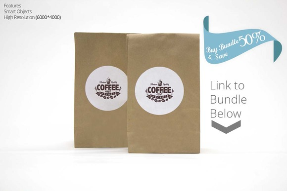 Coffee Branding Mockup 2