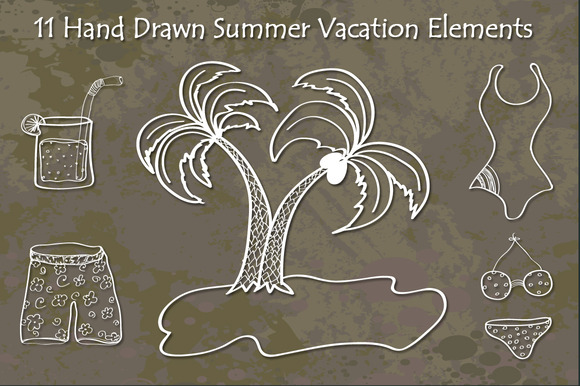 Hand Drawn Summer Vacation