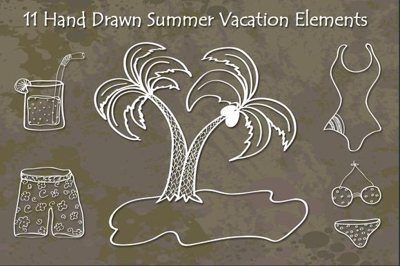 Hand Drawn Summer Vacation
