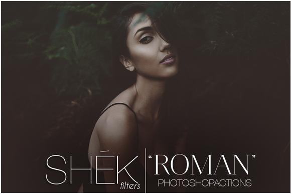 Roman Photoshop Actions Photo FX