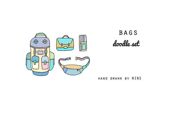 Bags Doodle Set