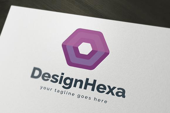 Design Hexa Logo Template