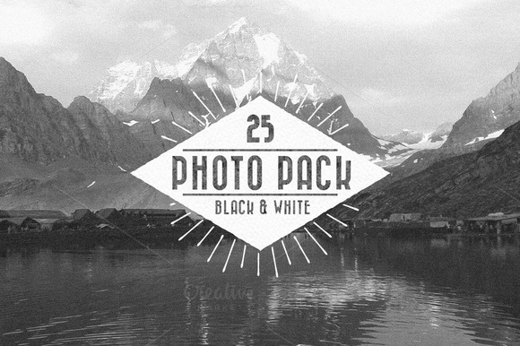 Vintage Black And White Photo Pack