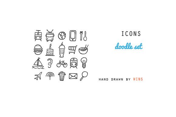 ICONS Doodle Set
