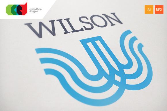 Wilson Logo Template
