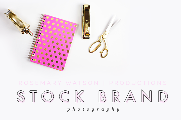 Styled Stock Photography Pink Gold