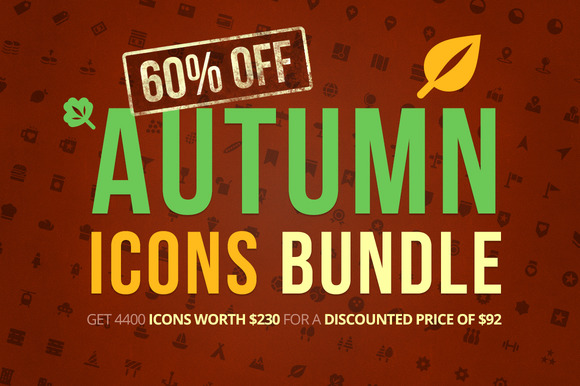 Autumn Icons Bundle