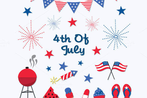 4th Of July Independence Day Clipart