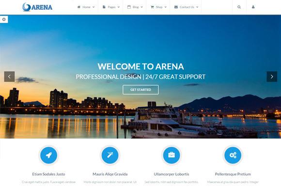 Arena Premium HTML Template