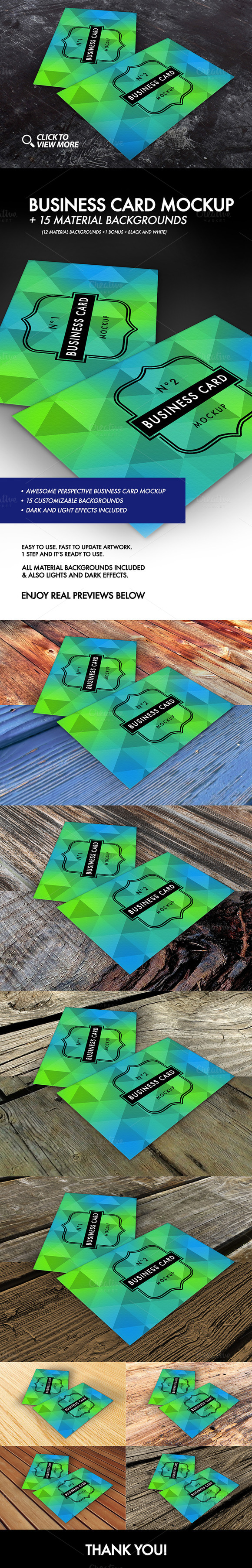 Business Card Mockup N2