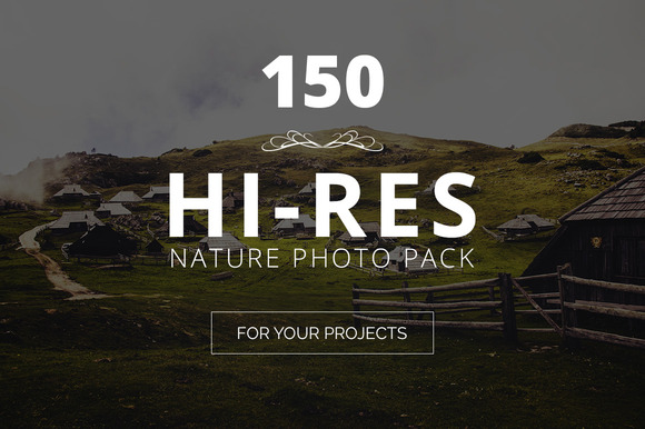 Huge Nature Photo Pack 150 Images