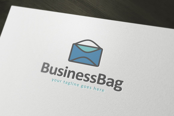 Business Bag Logo Template