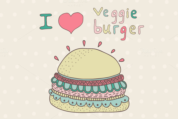Creative Veggie Burger