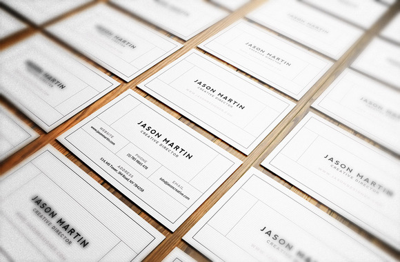 Simple And Easy Business Card