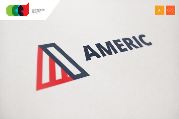 Americ Logo Template