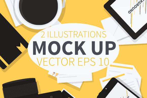 Vector Mock Up Illustrations