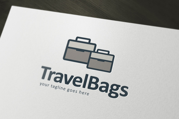 Travel Bags Logo Template