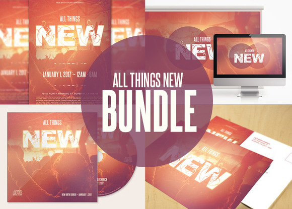 All Things New Template Bundle