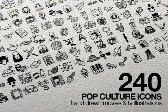 240 Pop Culture Icons