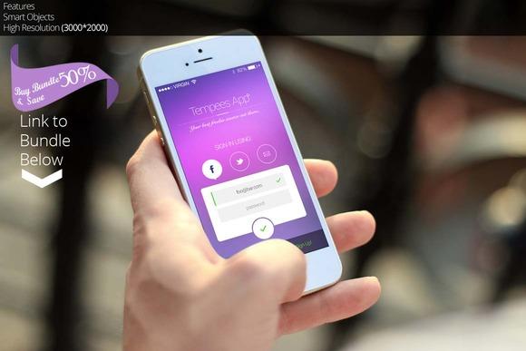 IPhone 5s Mockup 5