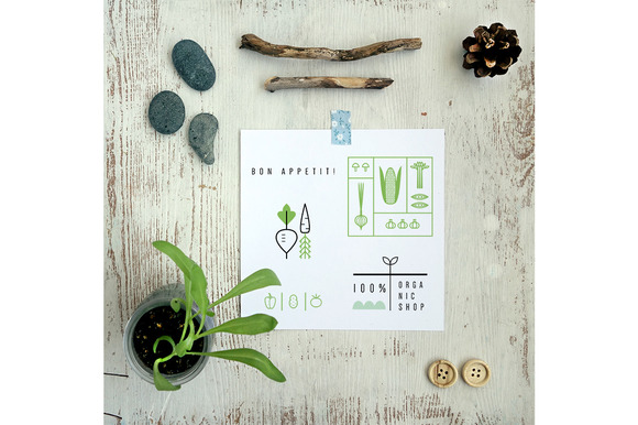 ECO Cards 12 Templates