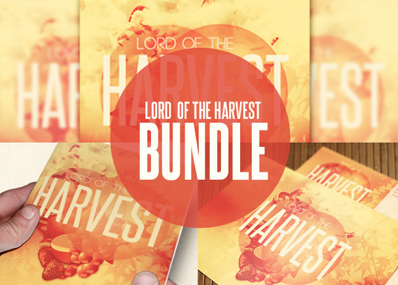 Lord Of The Harvest Template Bundle