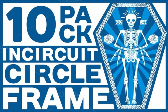 10 PACK INCIRCUIT CIRCLE FRAME