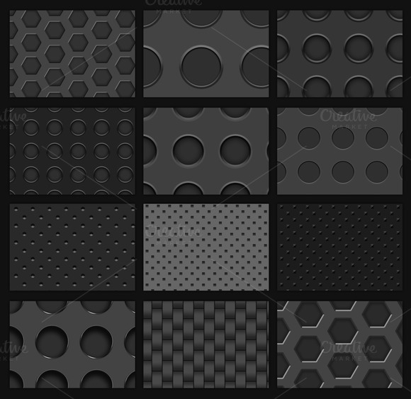 14 Carbon Fibers Patterns