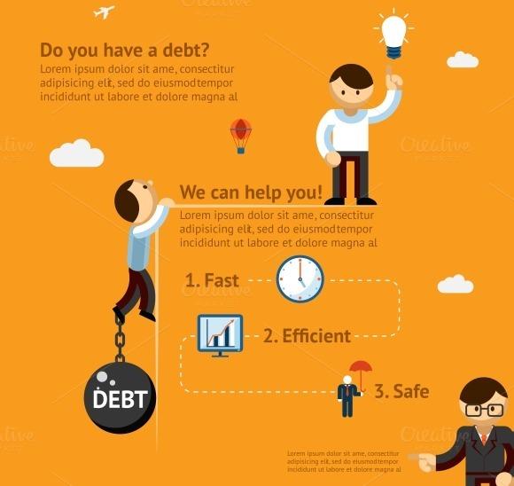 Debt Poster Concept