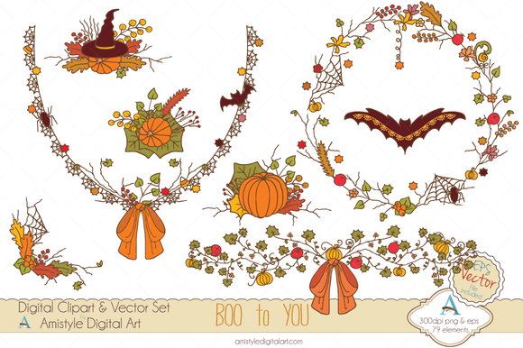 Boo To You Clipart Vector