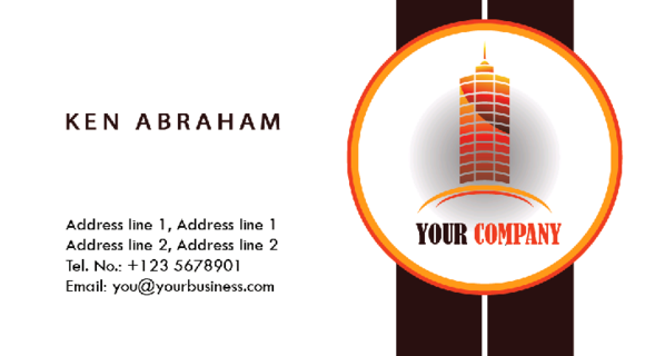 S7 4 Construction Business Cards
