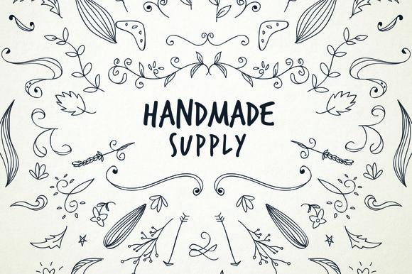 150 Pieces Of Handmade Supply Vol.1