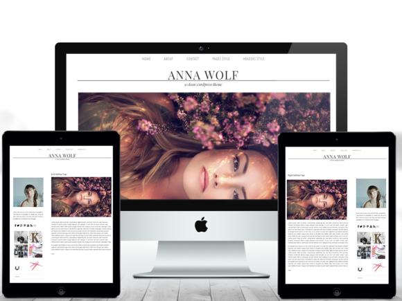 Anna Responsive Wordpress Theme