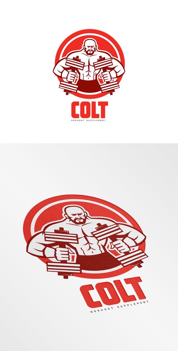 Colt Workout Supplement Logo