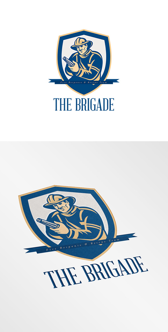 The Brigade Fire Rescue Logo