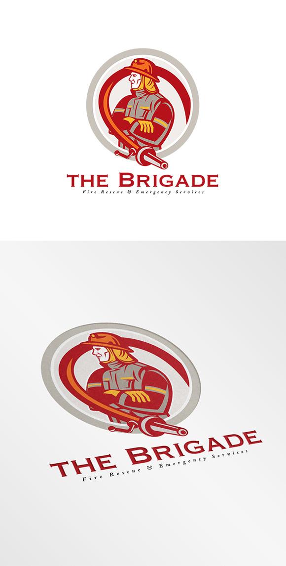 Brigade Emergency Fire Services Logo