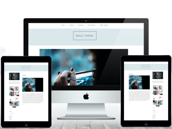 Bold Responsive Wordpress Theme