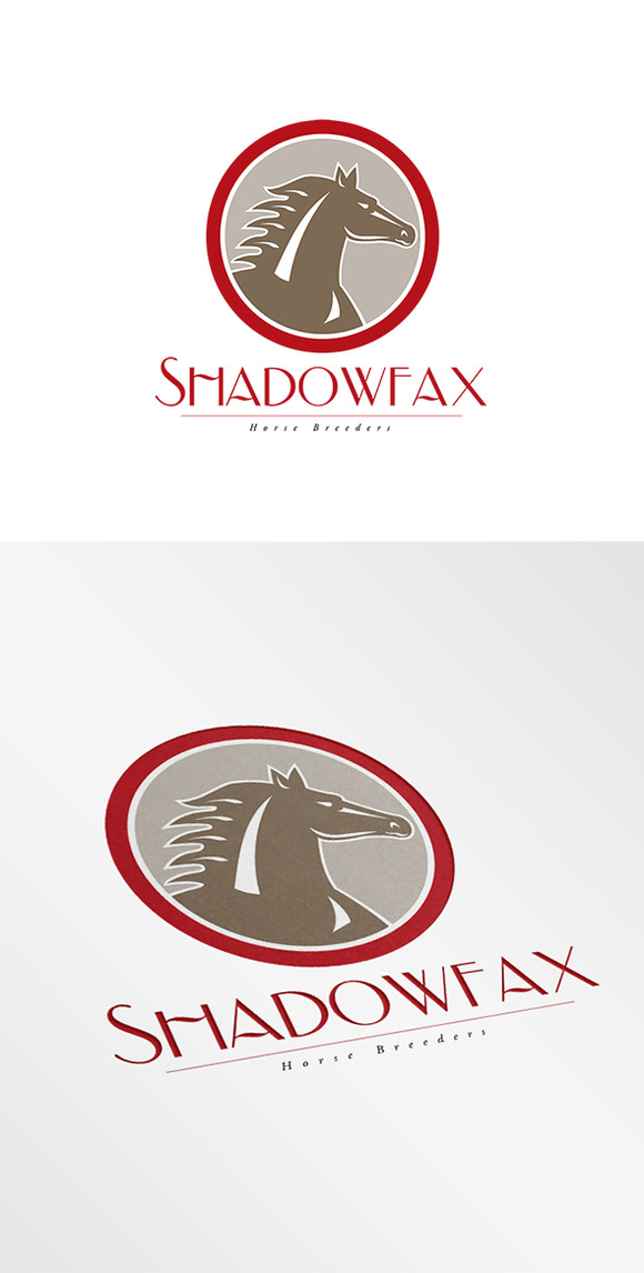 Shadowfax Horse Breeders Logo