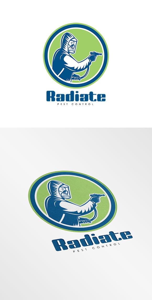 Radiate Pest Control Logo