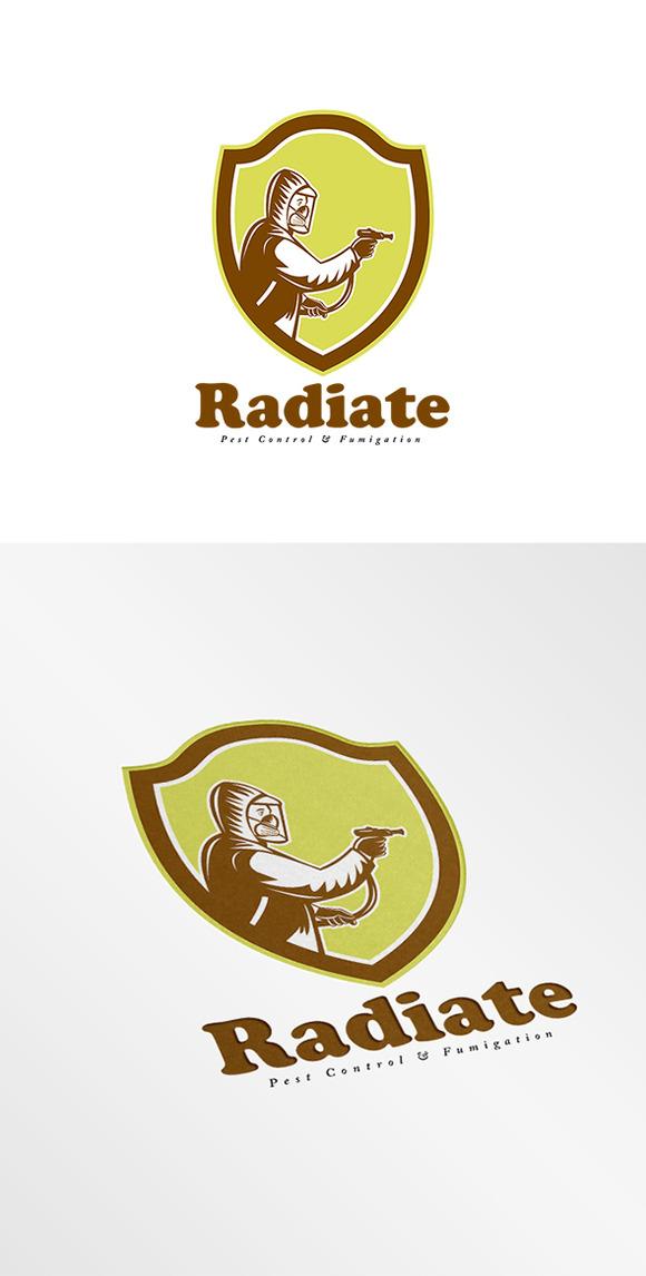 Radiate Fumigation Logo