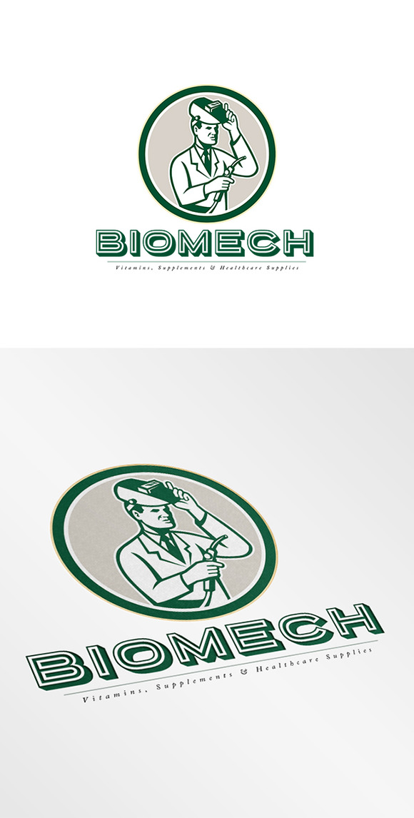 Biomech Vitamins Logo