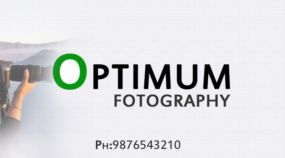 S7 Optimum Photography Business Card