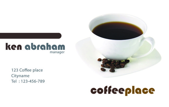 S7 Coffeeplace Business Card