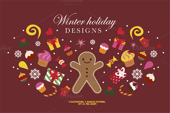 Winter Holidays Designs