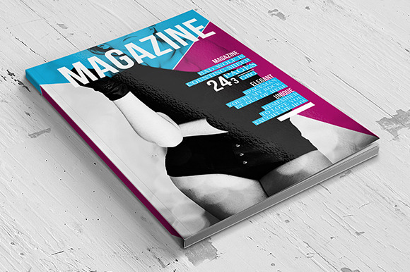 Stylish Magazine InDesign