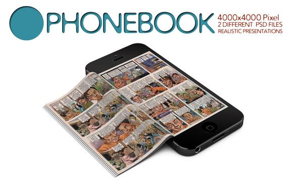 Phonebook Mock Up