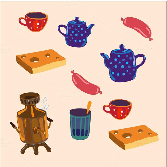 Cute Kitchenware Set