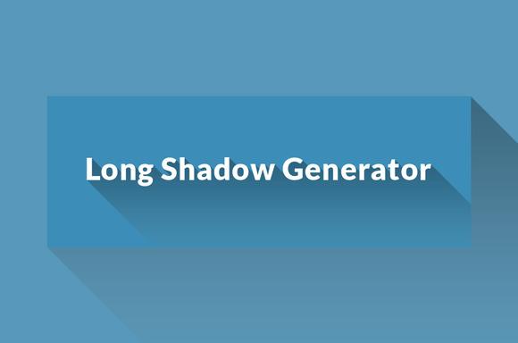 Flat Long Shadow Generating Action